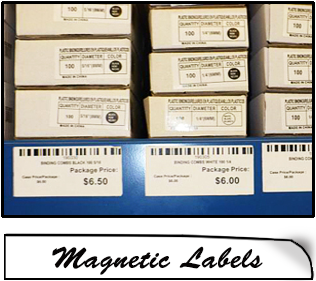 home magnetic labels