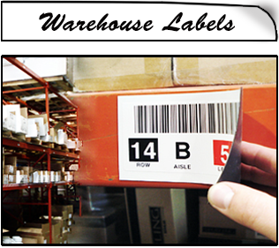 Warehouse Magnetic Lables