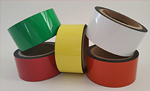 Get cheap colored flexible magnets too