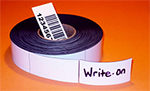 White Magnetic Strips Example With Writing
