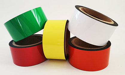 Dry Erase Colored Flexible Magnets